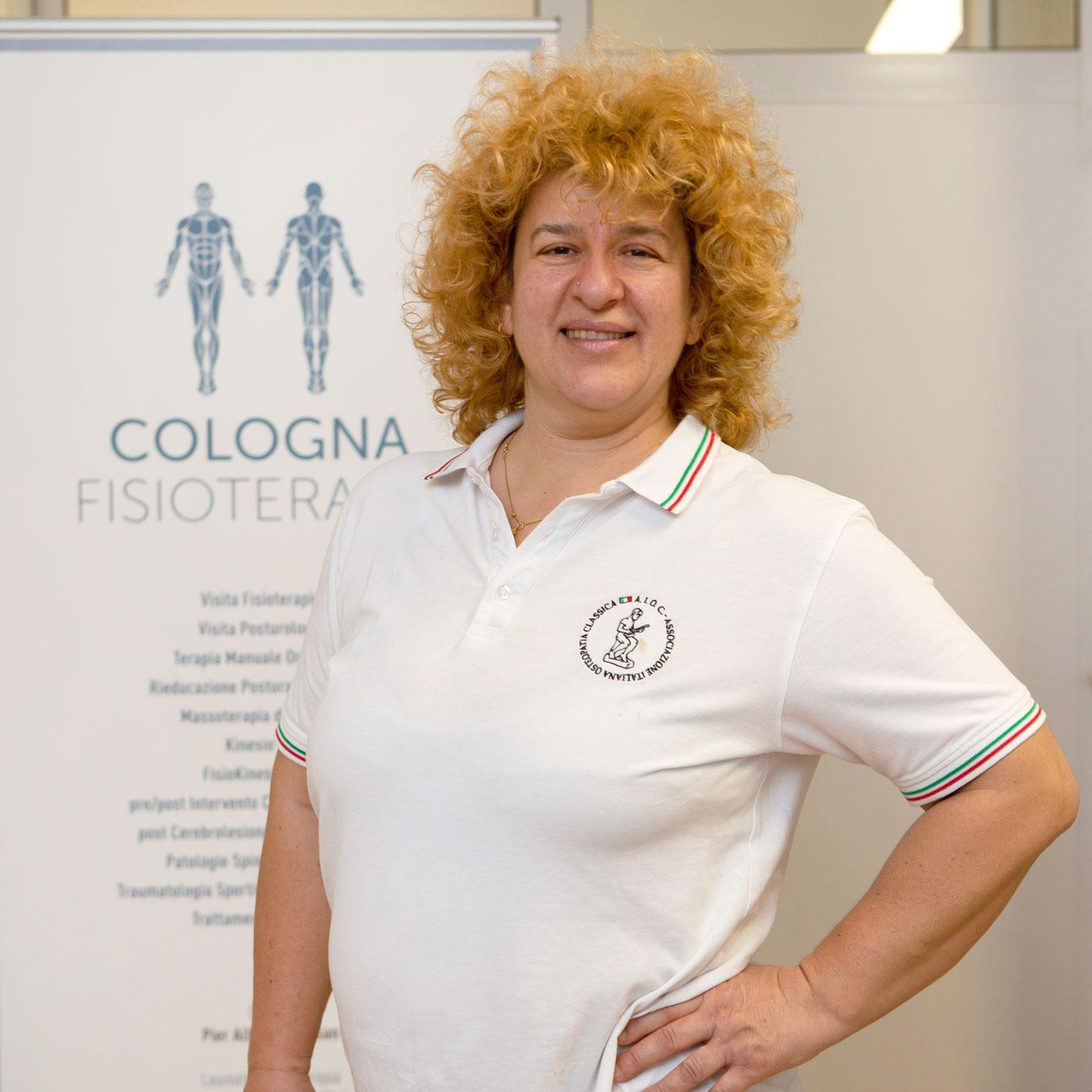 Graziella Borghesan - Cologna Fisioterapia