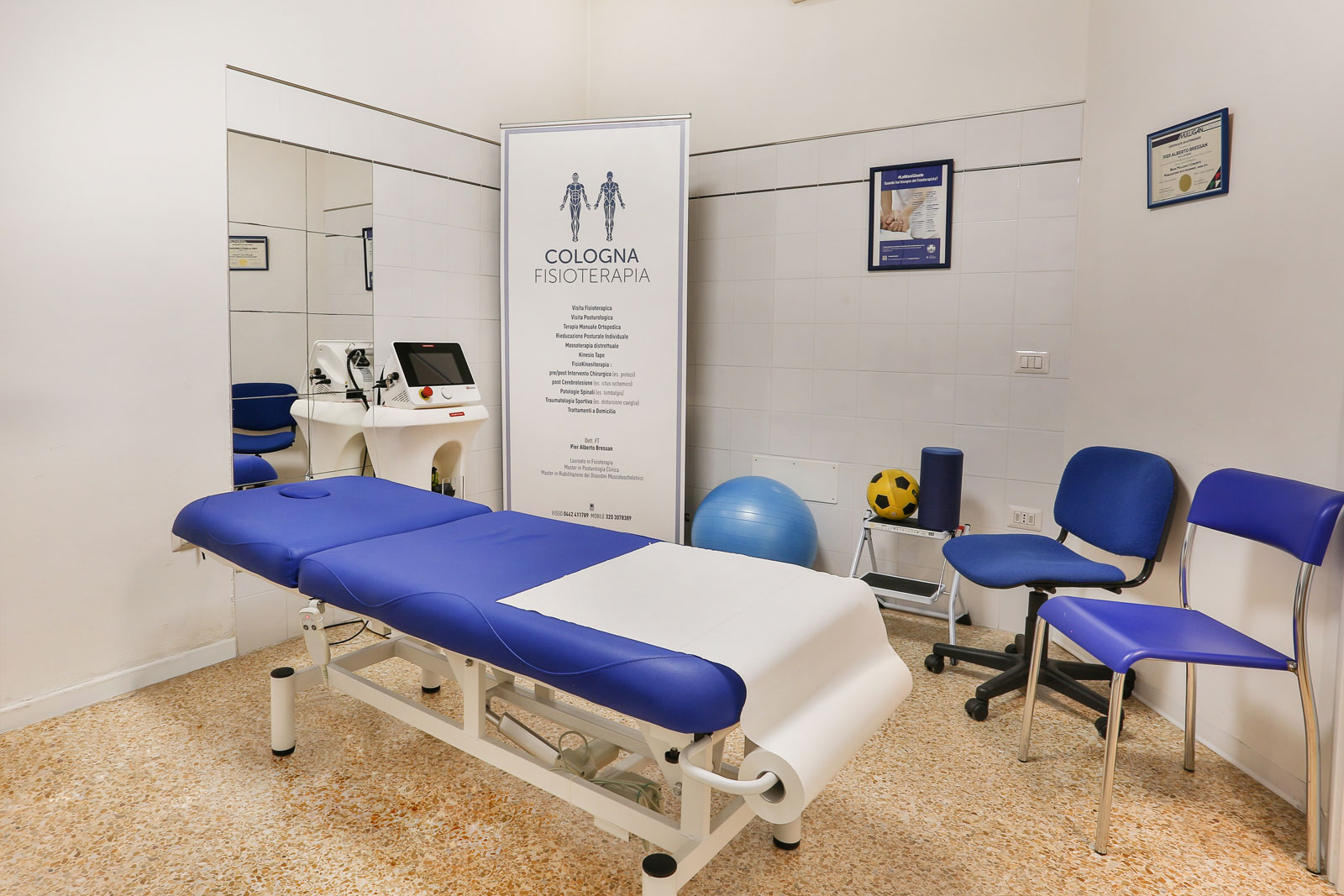 Cologna Fisioterapia Studio 1- Cologna Veneta